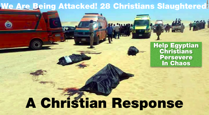 Islamic Extremists in Egypt Slaughter Coptic Christians